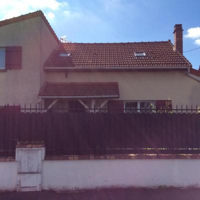 peinture façade avant